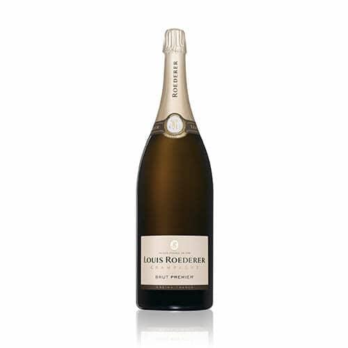 """de Coninck Wine Merchant Champagne Louis Roederer """"Brut Premier"""" Mathusalem 6L"""