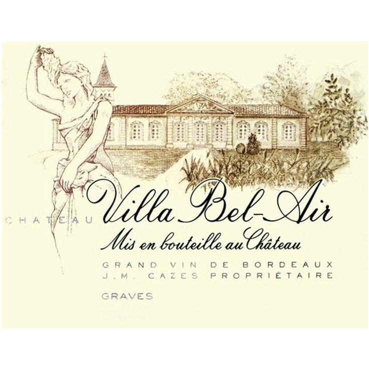 chateau villa bel air 2018 grave etiquette deconinckwine