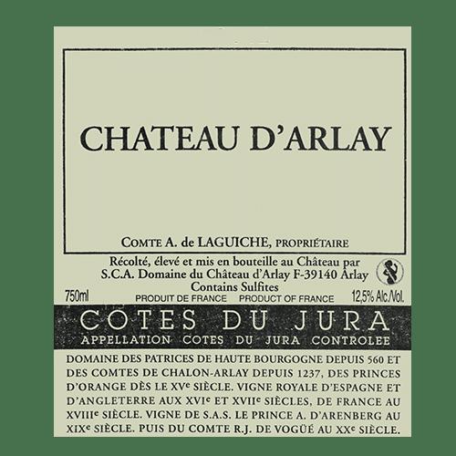 """de Coninck Wine Merchant Château d'Arlay """" En treize Vent """" - Côtes du Jura 2018"""
