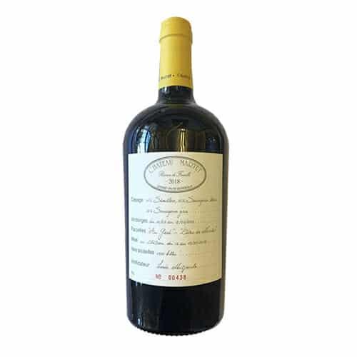 """de Coninck Wine Merchant Château Martet """"Réserve de Famille"""" blanc 2019 - Sainte-Foy-Bordeaux"""