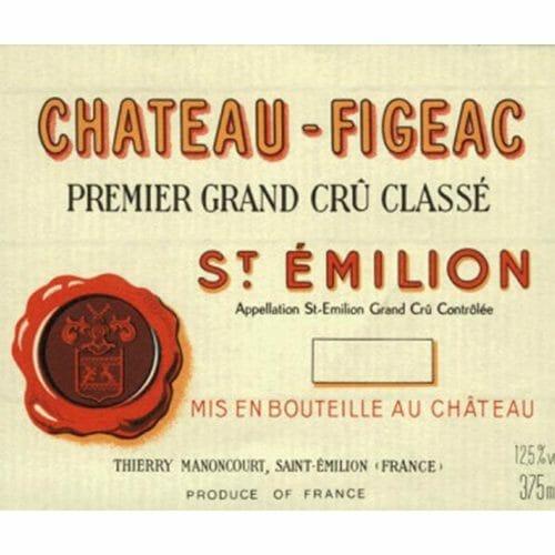 de Coninck Wine Merchant Château Figeac, 1er Grand Cru Classé Saint Emilion ( caisse de 6 bout.)
