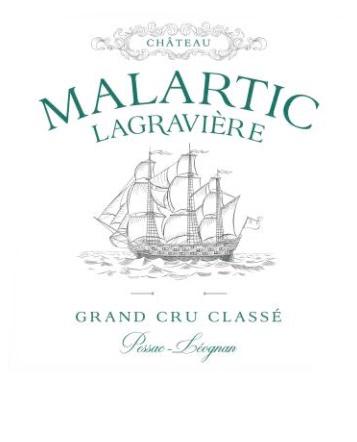 de Coninck Wine Merchant Château Malartic Lagravière Blanc, Grand Cru Classé Pessac Léognan, 2020 (caisse de 12 bout.)