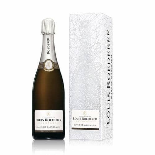 de Coninck Wine Merchant Champagne Louis Roederer Brut Blanc de blancs 2014 Gift Box