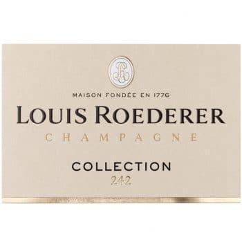 champagne roederer label collection 242 deconinckwine