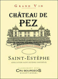 de Coninck Wine Merchant Château de Pez - Saint-Estèphe 2015 Magnum 1.5L