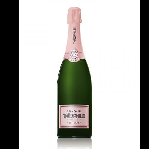 bouteille Champagne Théophile rosé