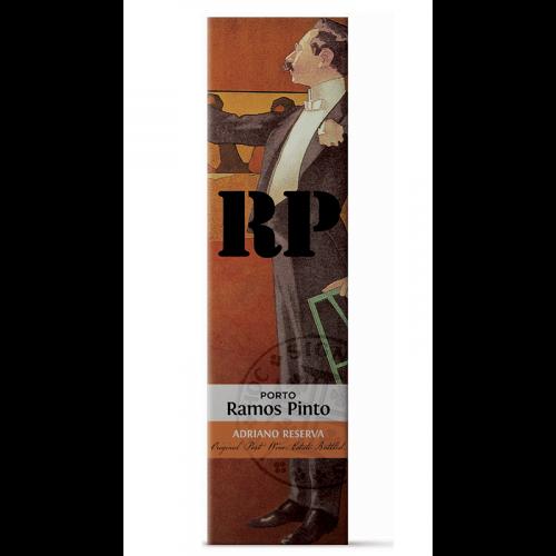 """de Coninck Wine Merchant Ramos Pinto - Porto - Adriano Tawny """"Reserva"""" 6 yo"""