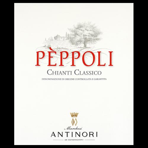 Etiquette Peppoli