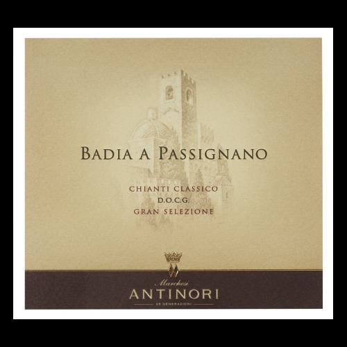 """de Coninck Wine Merchant Antinori - Badia a Passignano """"Tignanello Estate"""" - Chianti Classico Riserva 2017"""