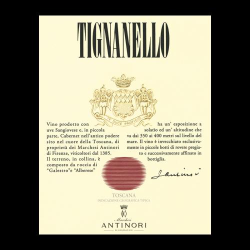 de Coninck Wine Merchant Antinori - Toscana IGT - Tignanello 2017 Magnum 1.5L