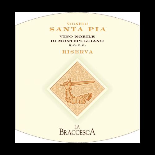 "de Coninck Wine Merchant Antinori - Santa Pia "" Vino Nobile di Montepulciano"" Riserva 2017"