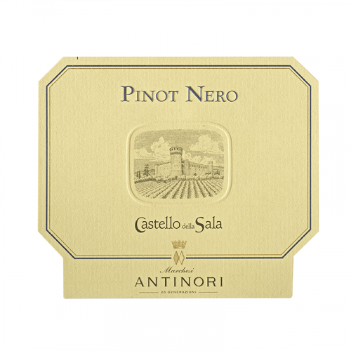 de Coninck Wine Merchant Antinori Castello della Sala – Umbria IGT – Pinot Nero 2017
