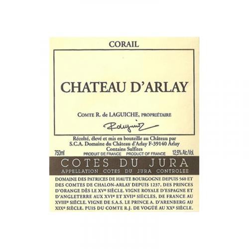 de Coninck Wine Merchant Château d'Arlay - Corail - Côtes du Jura 2016