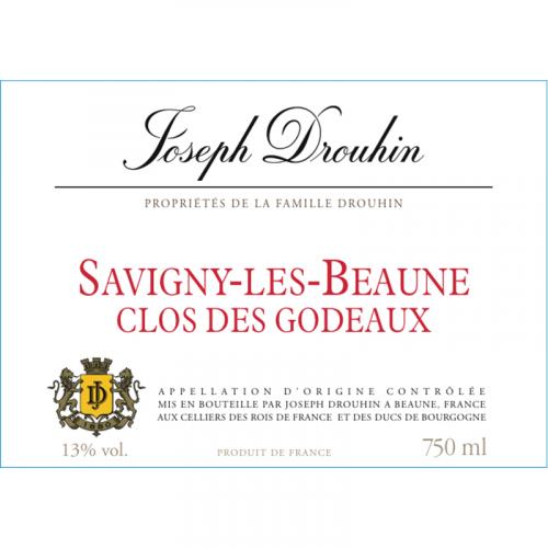 de Coninck Wine Merchant Joseph Drouhin - Savigny les Beaune « Clos des Godeaux » 2018 bio
