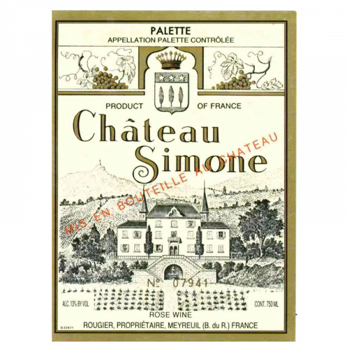 de Coninck Wine Merchant Château Simone - Palette Rosé 2020