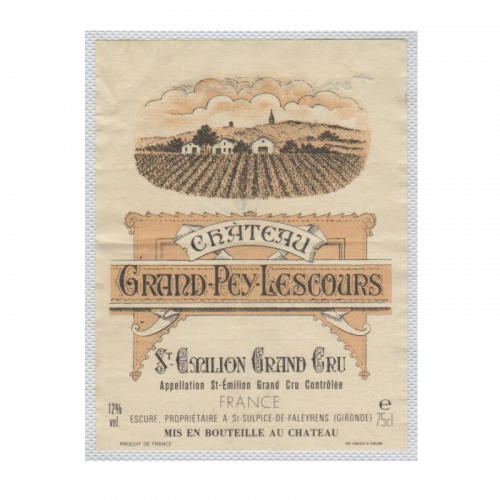 de Coninck Wine Merchant Château Grand-Pey-Lescours - Saint-Emilion Grand Cru 2018 Magnum