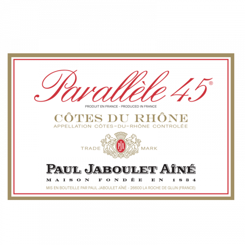 """de Coninck Wine Merchant Paul Jaboulet Aîné """"Parallèle 45 rouge"""" 2019 - 75 cl - BIO"""