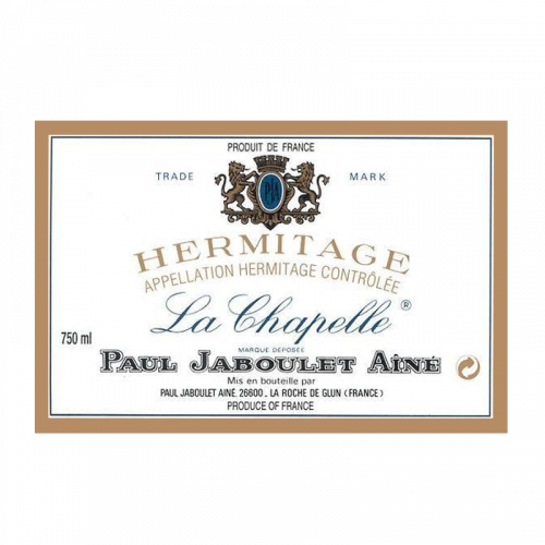 """de Coninck Wine Merchant Paul Jaboulet Aîné Hermitage """"La Chapelle"""" 1976"""