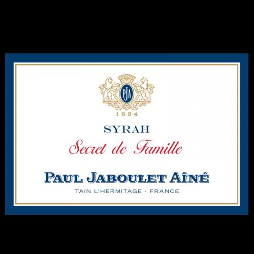 """de Coninck Wine Merchant Paul Jaboulet Aîné - """" Secret de Famille"""" - Syrah 2017"""