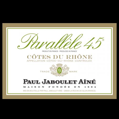 """de Coninck Wine Merchant Paul Jaboulet Aîné """"Parallèle 45 blanc"""" Côtes du Rhône 2019"""