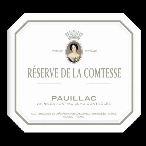 de Coninck Wine Merchant La Réserve de la Comtesse - Pauillac 2015