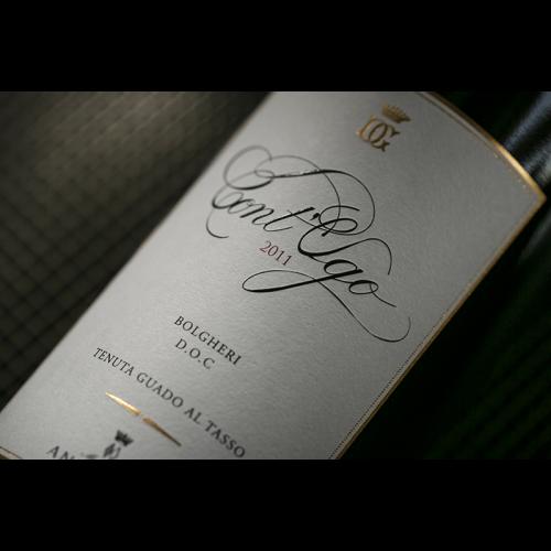 de Coninck Wine Merchant Antinori - Cont'Ugo Bolgheri Superiore 2019 100% Merlot 1,5L Magnum