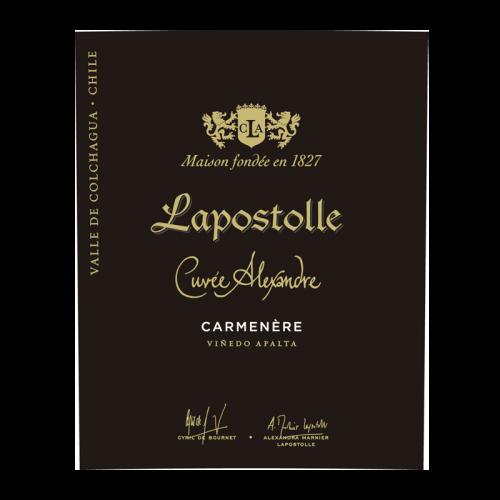 """de Coninck Wine Merchant Lapostolle """"Cuvée Alexandre"""" 2018 - Carmenère - BIO"""