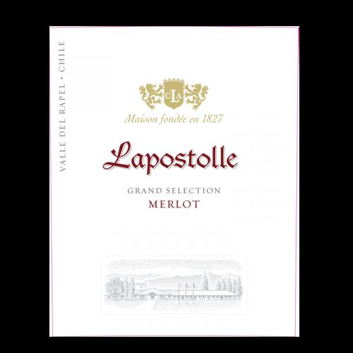 "de Coninck Wine Merchant Lapostolle ""Grand Selection"" Merlot 2018"