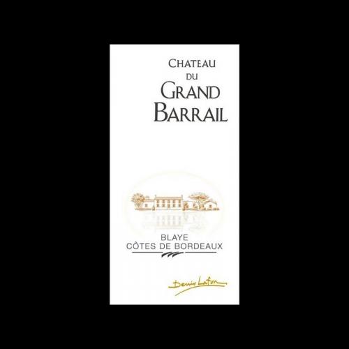 de Coninck Wine Merchant Château du Grand barrail - Premières Côtes de Blaye 2018 37.5CL