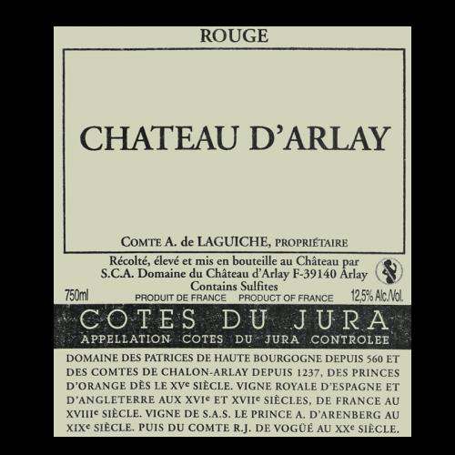 de Coninck Wine Merchant Château d'Arlay - Côtes du Jura rouge 2014