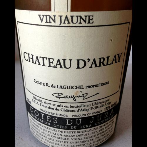 de Coninck Wine Merchant Château d'Arlay Grand Vin Jaune Côtes du Jura 2012