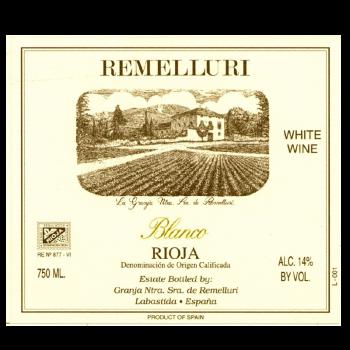Granja de Nuestra Señora de Remelluri - Blanco 2014