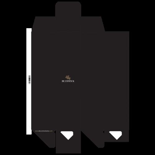 de Coninck Wine Merchant Valisette carton pour 1 magnum
