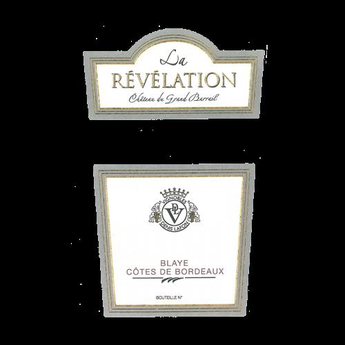 """de Coninck Wine Merchant Château du Grand Barrail """"La Révélation"""" - Premières Côtes de Blaye 2016"""