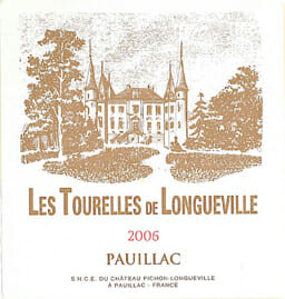 de Coninck Wine Merchant Les Tourelles de Longueville - Pauillac 2016