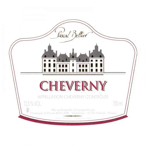 de Coninck Wine Merchant Pascal Bellier - Cheverny rouge 2020