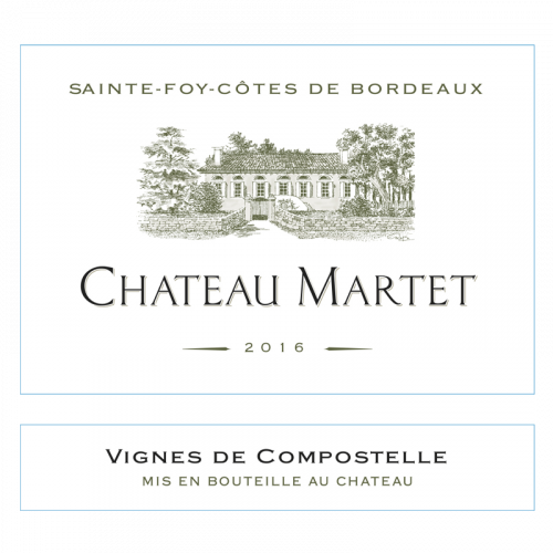 """de Coninck Wine Merchant Château Martet """" Vignes de Compostelle """" Bordeaux Blanc - 2019"""