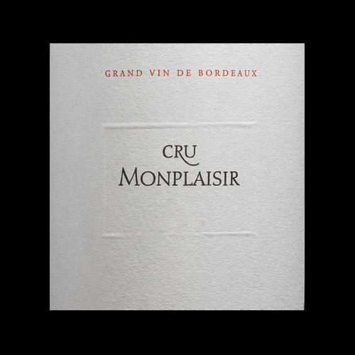 de Coninck Wine Merchant Cru Monplaisir AOC Bordeaux 2019 Magnum 1.5L