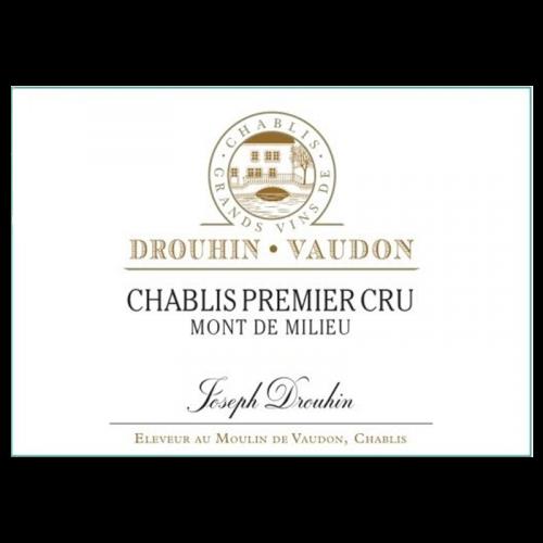 """de Coninck Wine Merchant Joseph Drouhin Chablis Premier Cru """"Mont de Milieu"""" 2018 BIO"""