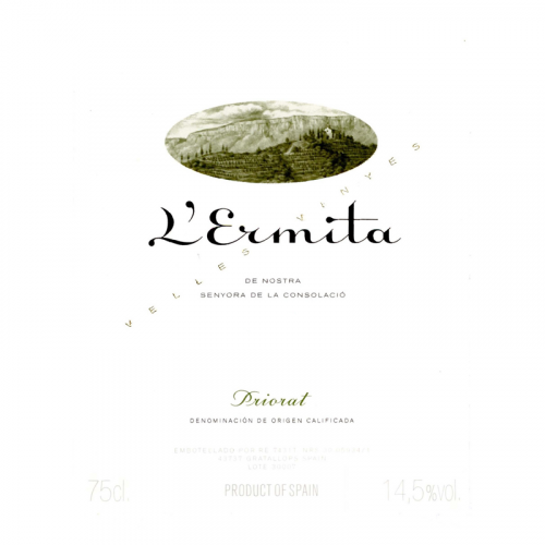 de Coninck Wine Merchant Alvaro Palacios Priorat L'Ermita 2014