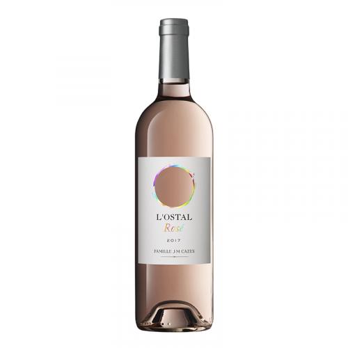 de Coninck Wine Merchant Domaine l'Ostal Cazes Rosé 2020 - Vin de Pays d'Oc Magnum