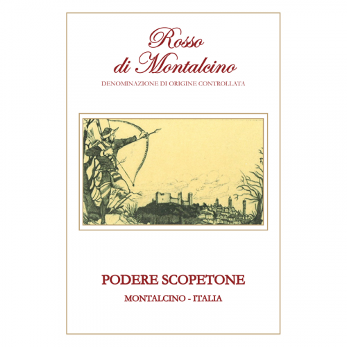 de Coninck Wine Merchant Scopetone Rosso di Montalcino 2018