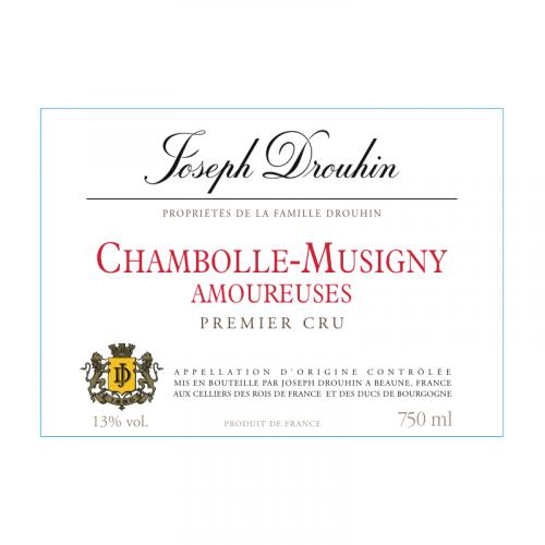 "de Coninck Wine Merchant Joseph Drouhin Chambolle Musigny Premier Cru 2018 ""Les Amoureuses"" Bio"
