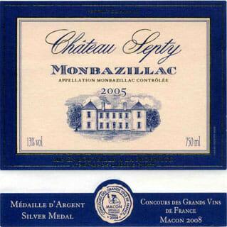 de Coninck Wine Merchant Château Septy - Monbazillac 2015