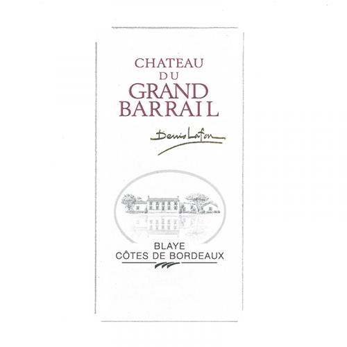 de Coninck Wine Merchant Château du Grand Barrail, Premières Côtes de Blaye 2019