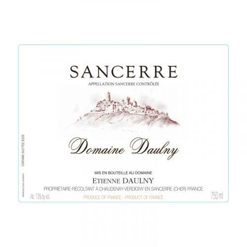 de Coninck Wine Merchant Sancerre Rouge Domaine Daulny 2020