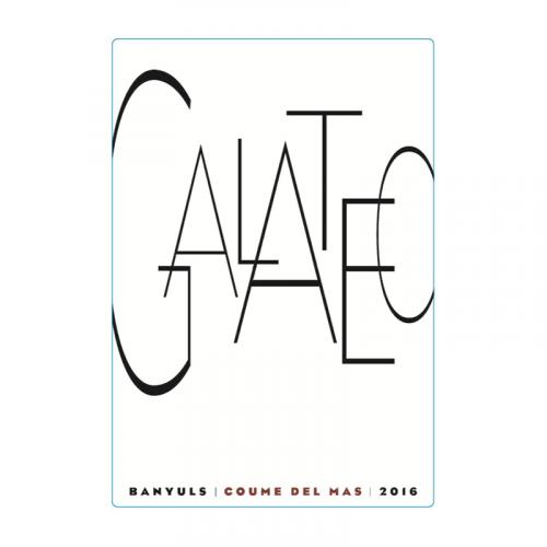 "de Coninck Wine Merchant Coume Del Mas - Galateo ""Rimage"" - Collioure 2018 50CL"