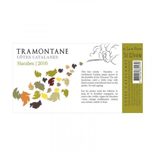 "de Coninck Wine Merchant Coume Del Mas - Tramontane ""Macabeu"" - blanc 2020"