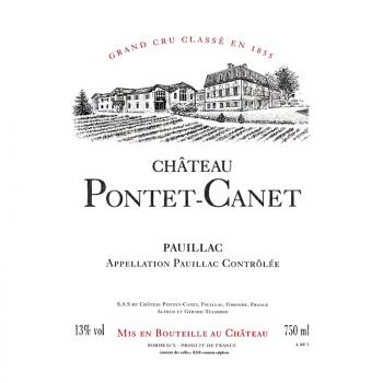 Château Pontet Canet, Grand Cru Classé Pauillac, 2017