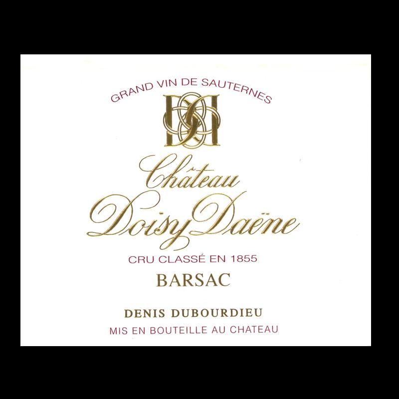 Château Doisy Daene - Barsac - 2017 - 50cl